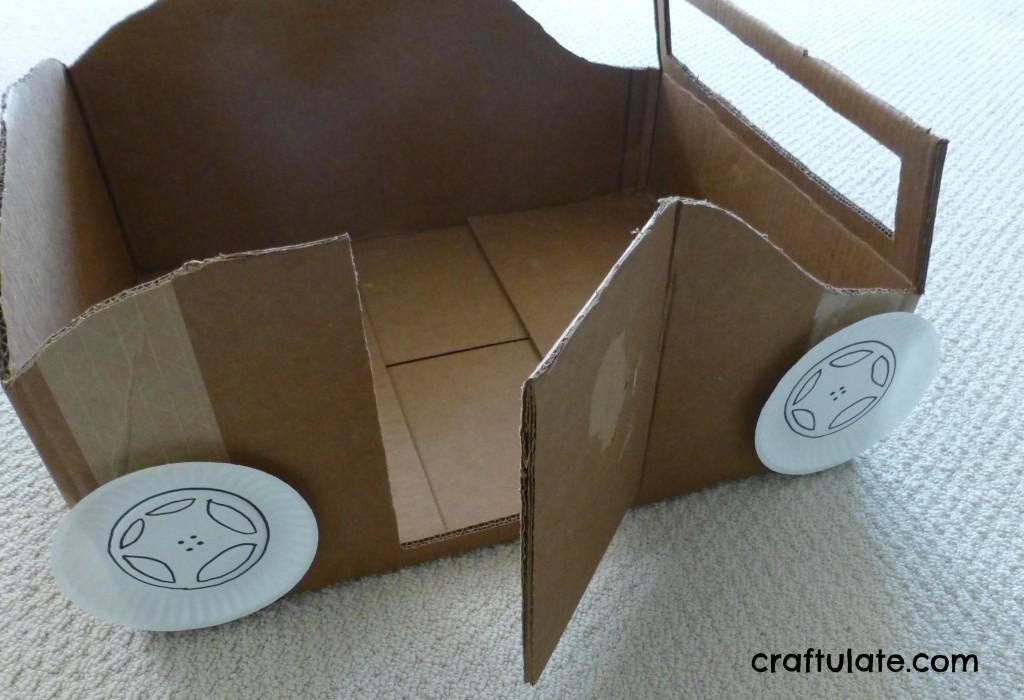 Cardboard Box Car Instructions Cardboard Box Car