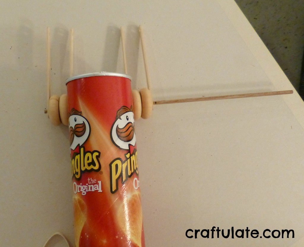 Pringles Can Racing Car