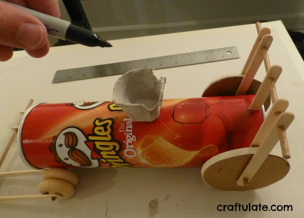 How To Make An Egg Crash Car