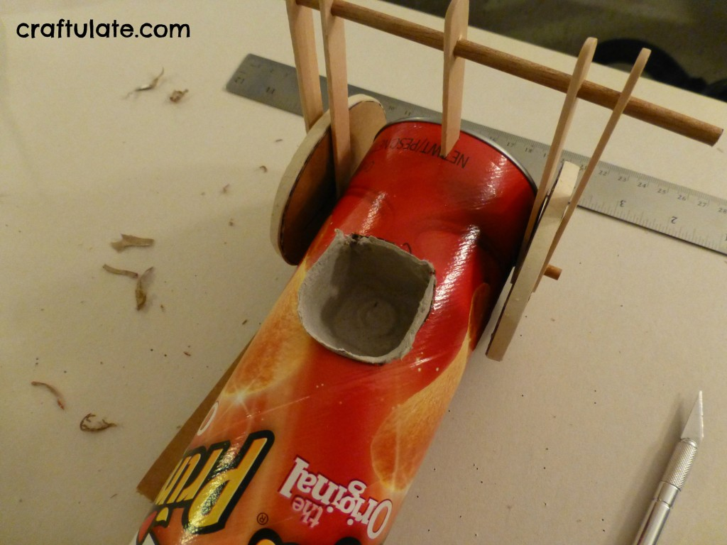 Pringles Can Racing Car