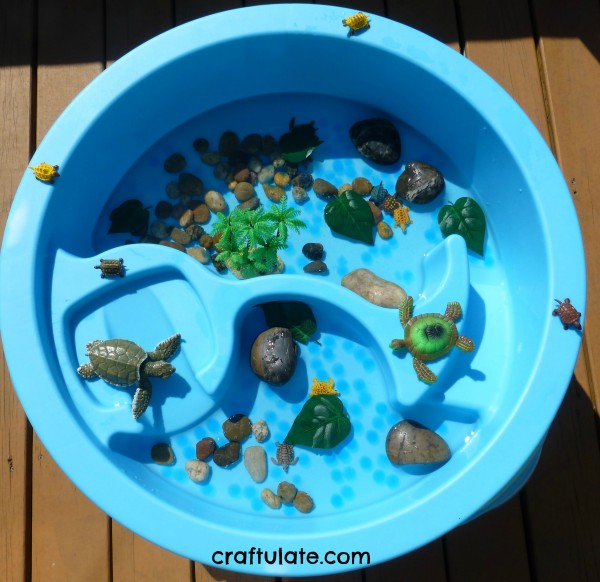 Turtle Themed Water Table - Craftulate