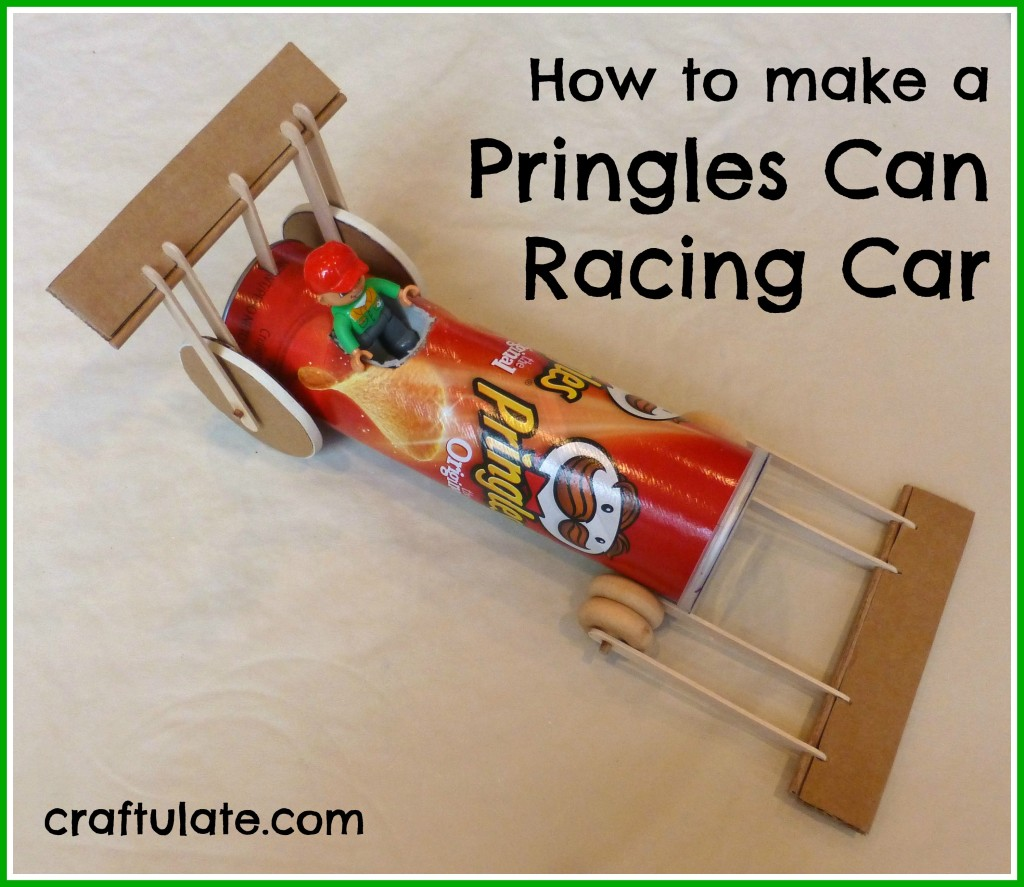 Craft Ideas To Make With A Pringles Cans