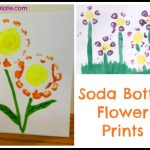Soda Bottle Flower Prints