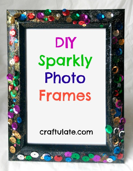 Sparkly Photo Frames
