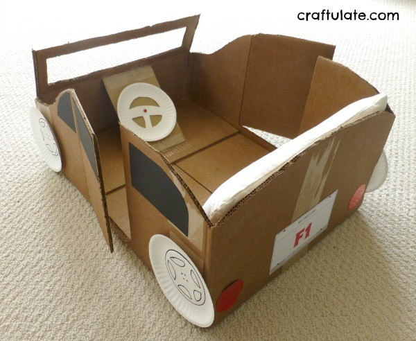 Making A Homemade Craft Box For Kids