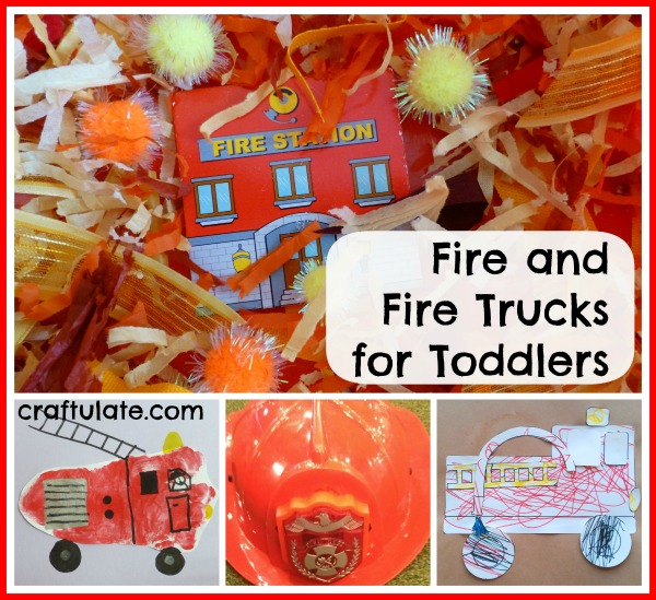 Fire and Fire Trucks for Toddlers by Craftulate
