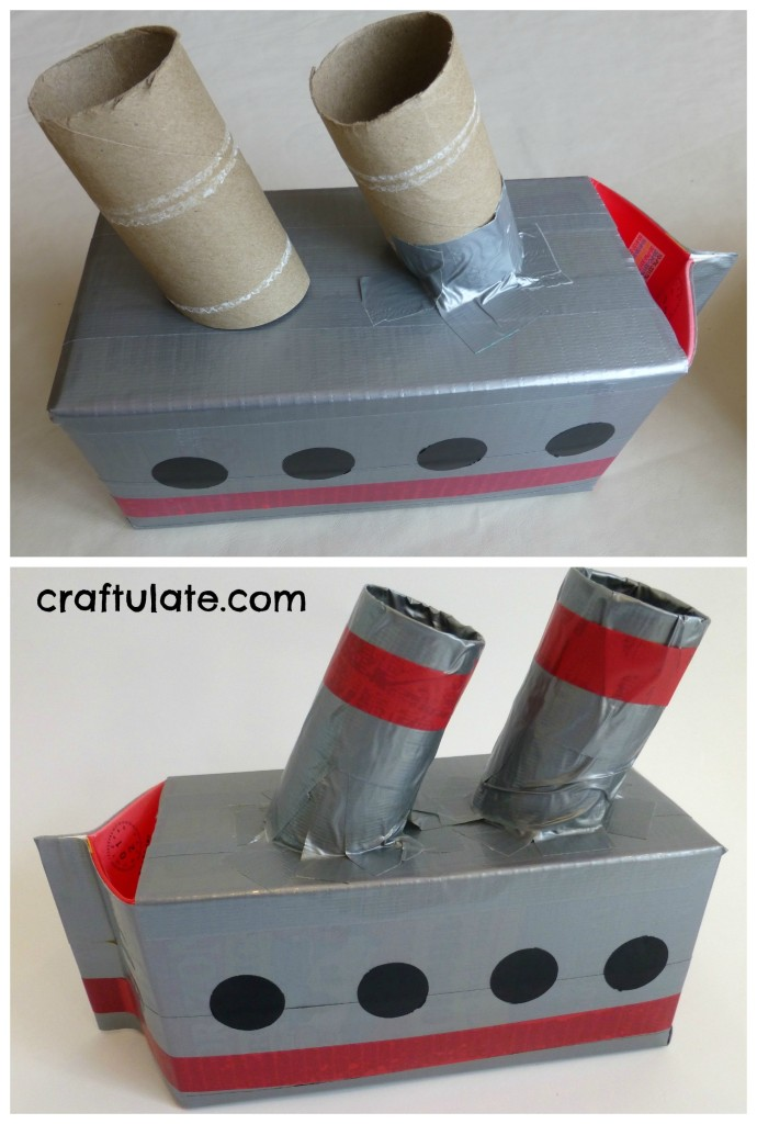 Five Homemade Boats for kids to make