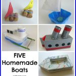 Five Homemade Boats