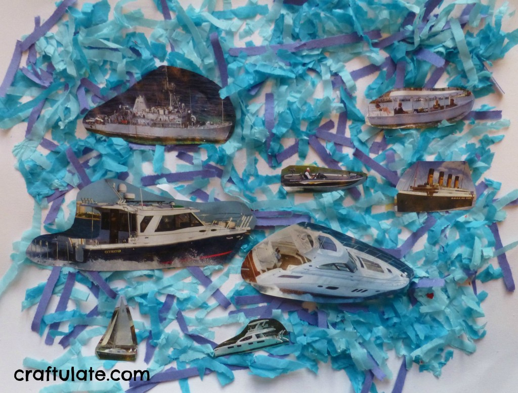 All Things Boat! Crafts and activities for kids with a boat theme!