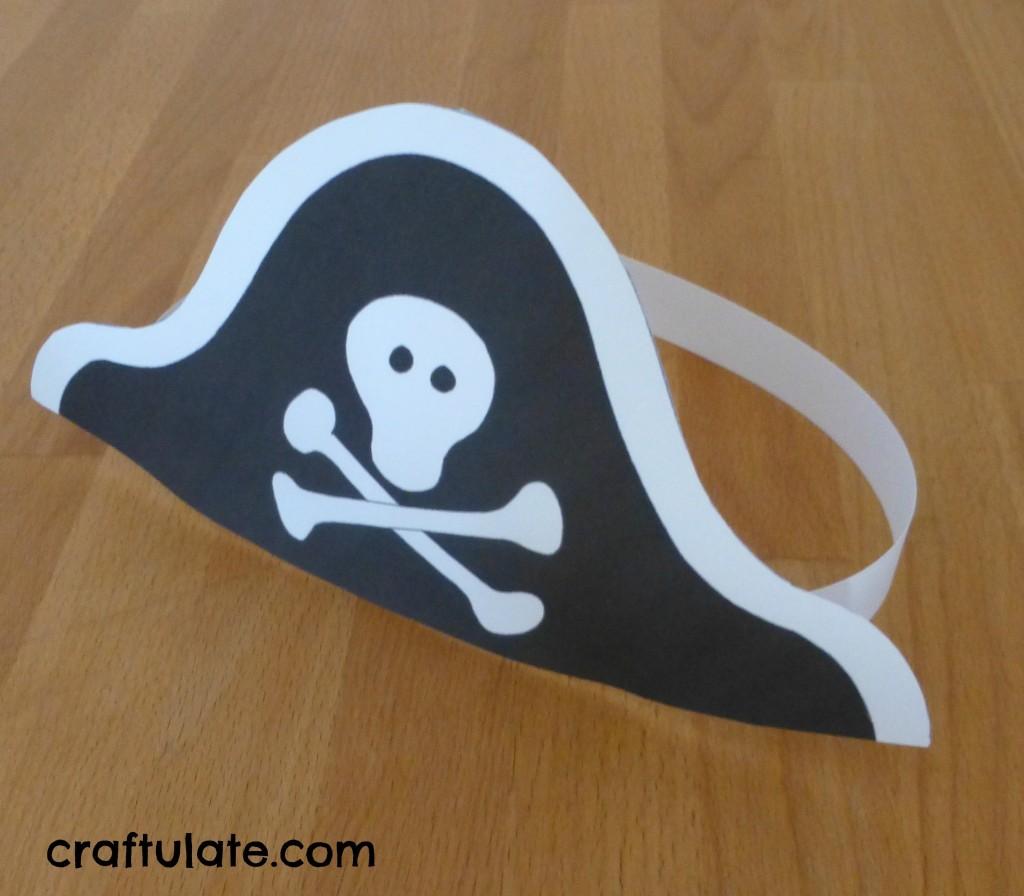 Как сделать пирата из бумаги своими руками 85