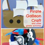 Pirate Galleon Craft and other pirate activities