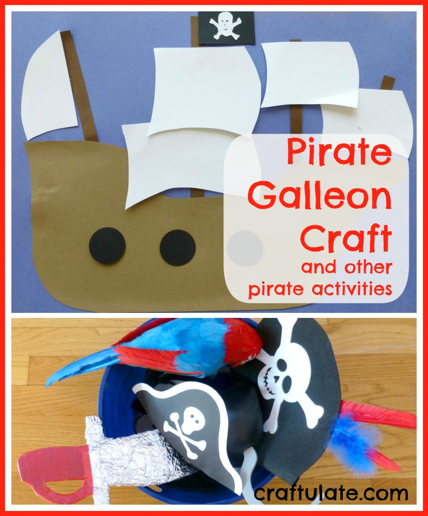 Pirate Galleon Craft
