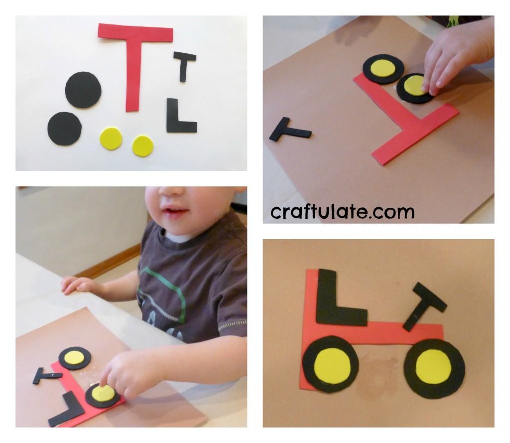 Поделки из бумаги для ребёнка 3 лет