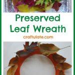 Preserved Leaf Wreath