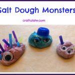 Salt Dough Monsters