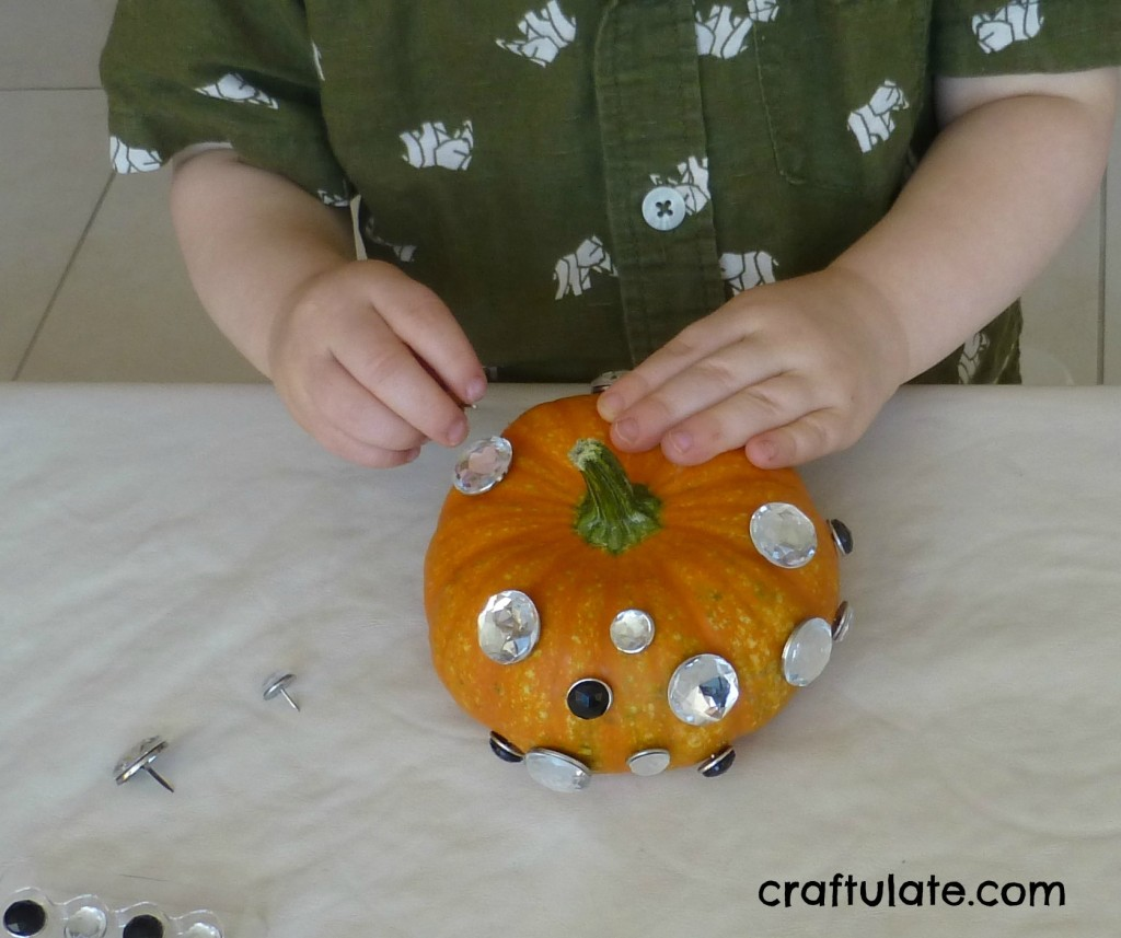 Kid Friendly Pumpkin Decorating