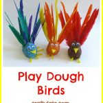 Play Dough Birds