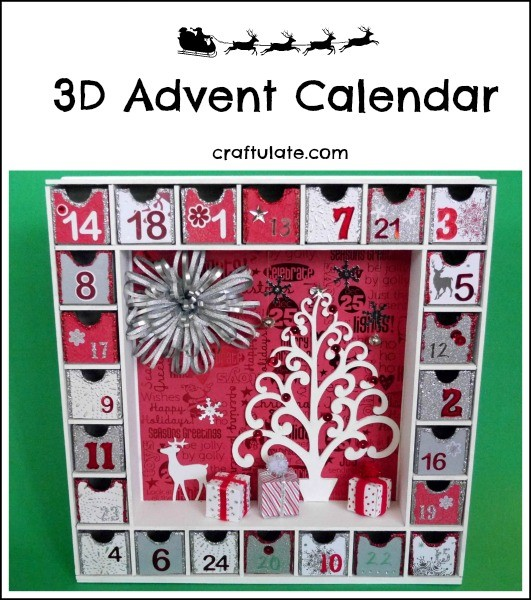3D Advent Calendar - a beautiful keepsake to enjoy for many years
