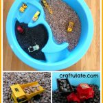 Dried Bean Sensory Table