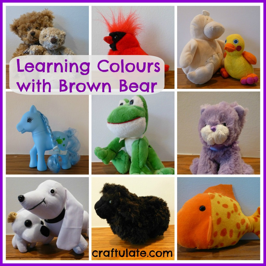 Learning Colours with Brown Bear - a nine week series