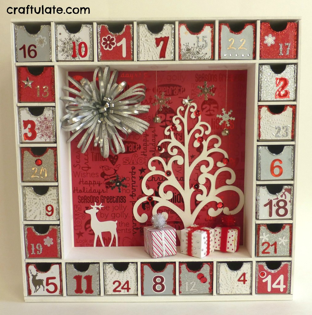 3D Advent Calendar - Craftulate
