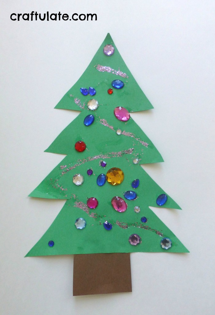 Toddler Christmas Tree Craft Craftulate