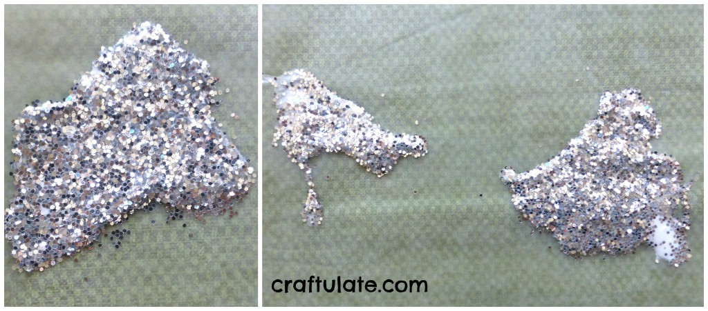 Craftulate: DIY Glitter Window Clings