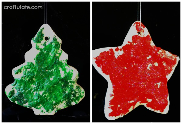 Christmas Clay Ornaments for Toddlers To Make