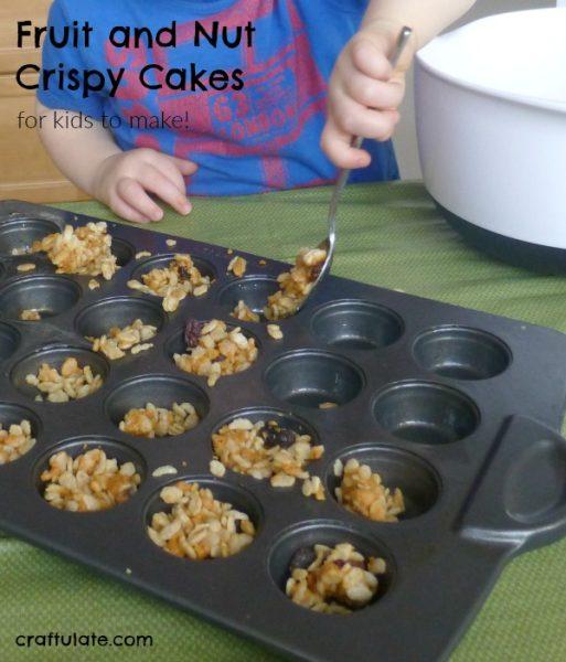 Fruit and Nut Crispy Cakes