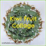 Kiwi Fruit Collage