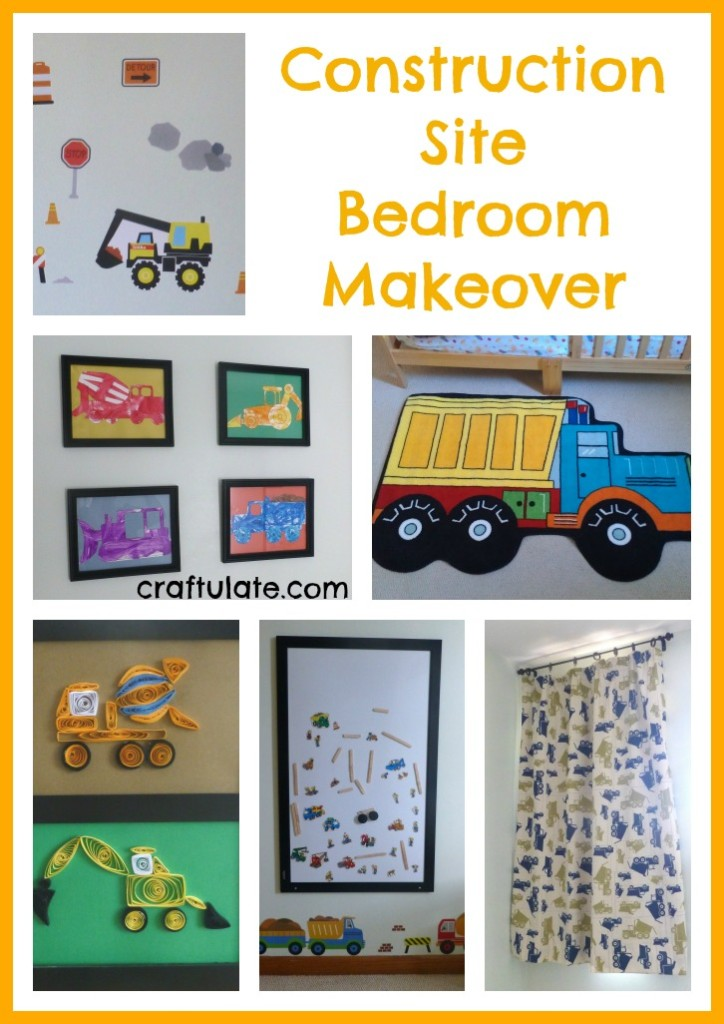 Construction Site Bedroom Makeover