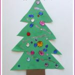 Toddler Christmas Tree Craft