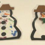 Snowman Suncatcher
