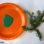Christmas Tree and Ornament Art for Toddlers