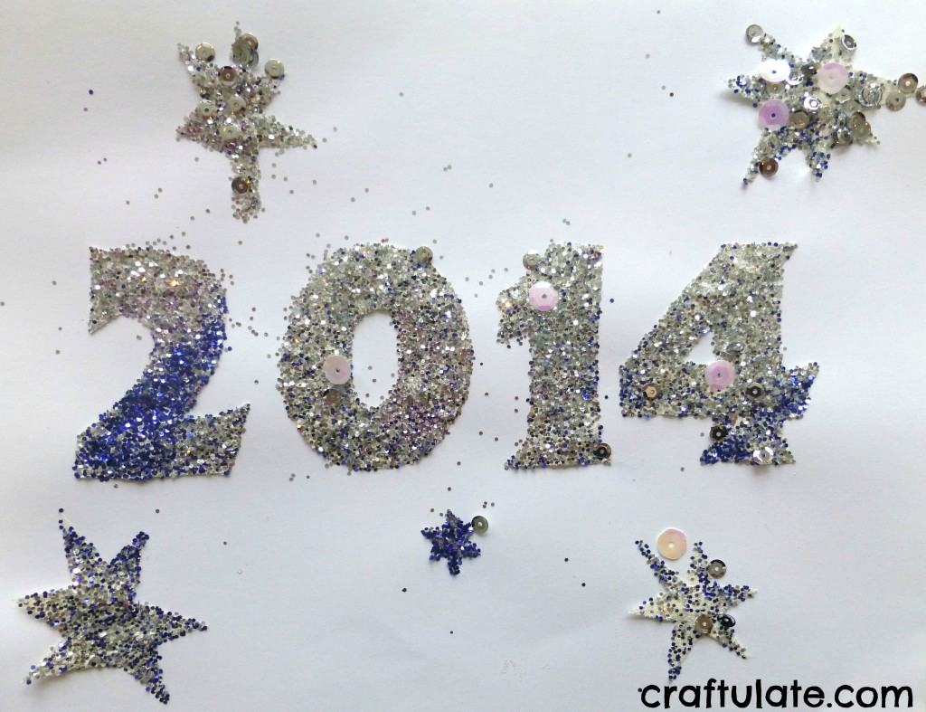 New Year Art for Toddlers