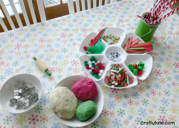 Christmas Play Dough - Invitation to Create