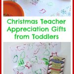 Christmas Teacher Appreciation Gifts from Toddlers
