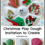 Christmas Play Dough – Invitation to Create