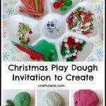 Christmas Play Dough – Invitation to Create