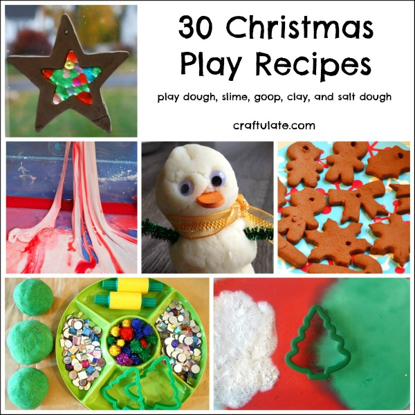 30 Christmas Play Recipes that the kids will love!