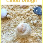 Beach Themed Cloud Dough