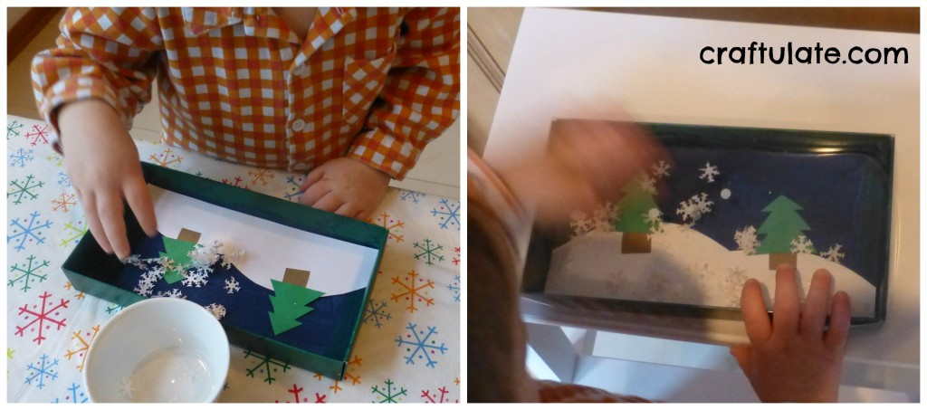 Winter Scene Craft in a Box