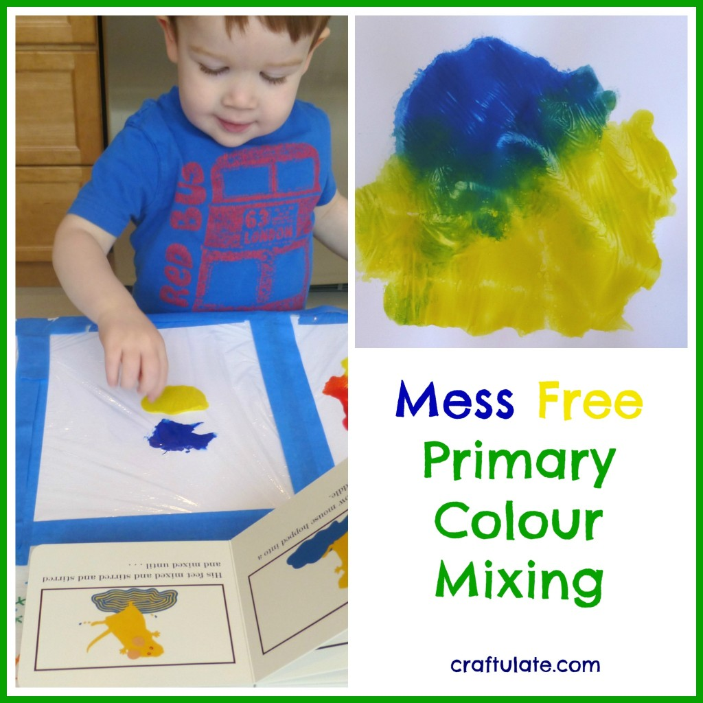 Mess Free Primary Colour Mixing