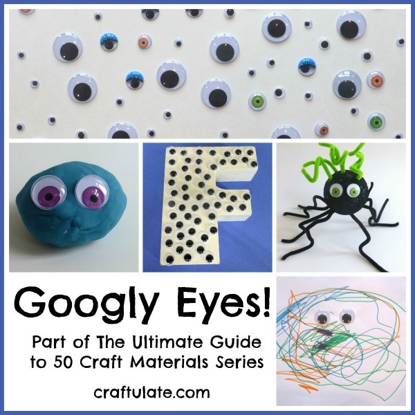 Googly Eyes - everything you need to know about this craft material