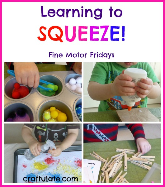Learning to Squeeze - an essential fine motor skill