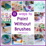 15 Ways to Paint Without Brushes