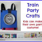 Train Party Crafts
