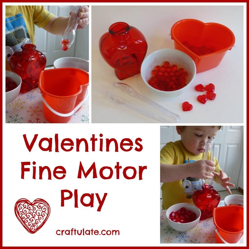 Valentines Fine Motor Play