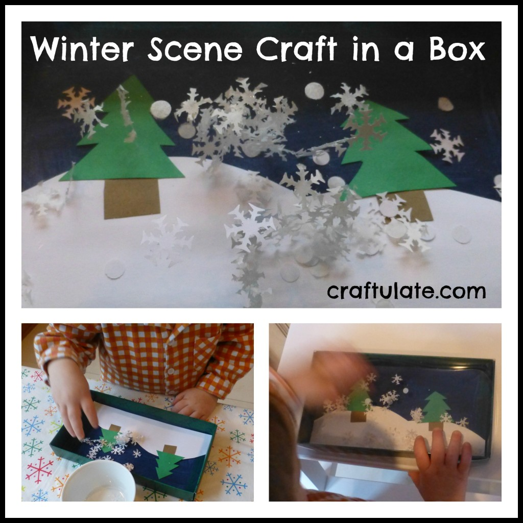 Winter Scene Craft in a Box