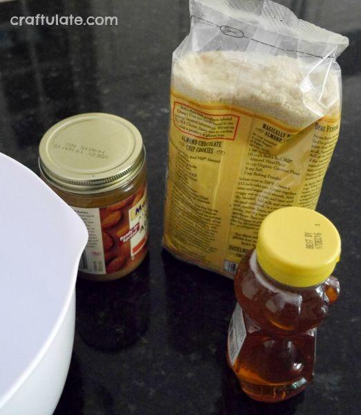 Super Almond Edible Play Dough